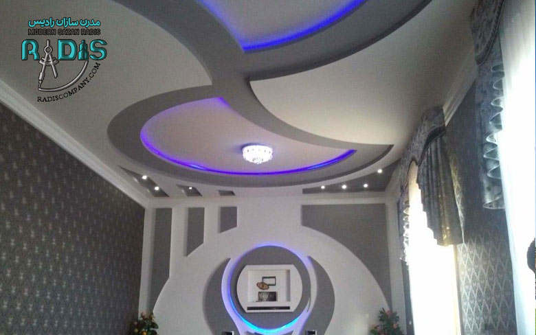 بهترین ایده را برای کناف کاری سقف